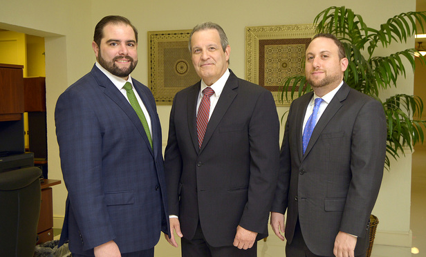 Jorge L. Fors; Jorge L. Fors, Jr both with Fors Attorneys at Law and Adam S. Feldman, attorney with Cernitz Shanbron; Coral Gables