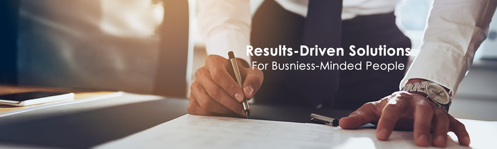 Result driven solutions